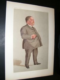 Vanity Fair Print 1892 Jabez Spencer Balfour